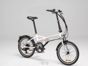 BTwin Tilt 500 Folding eBike Designed For The Budget Conscious