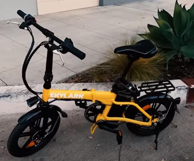 Nakto Skylark Folding eBike - personal electric vehicle